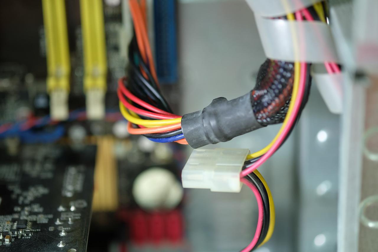 Loaded circuit board