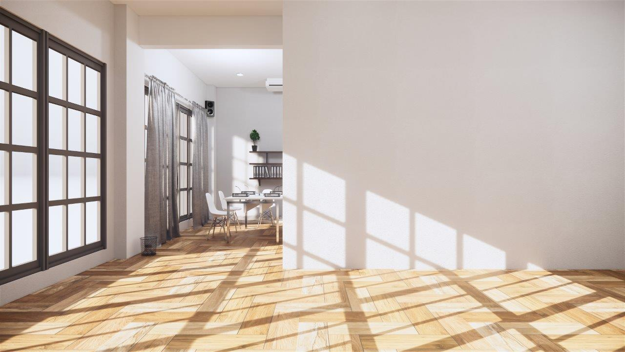 Greater spaces in between rooms