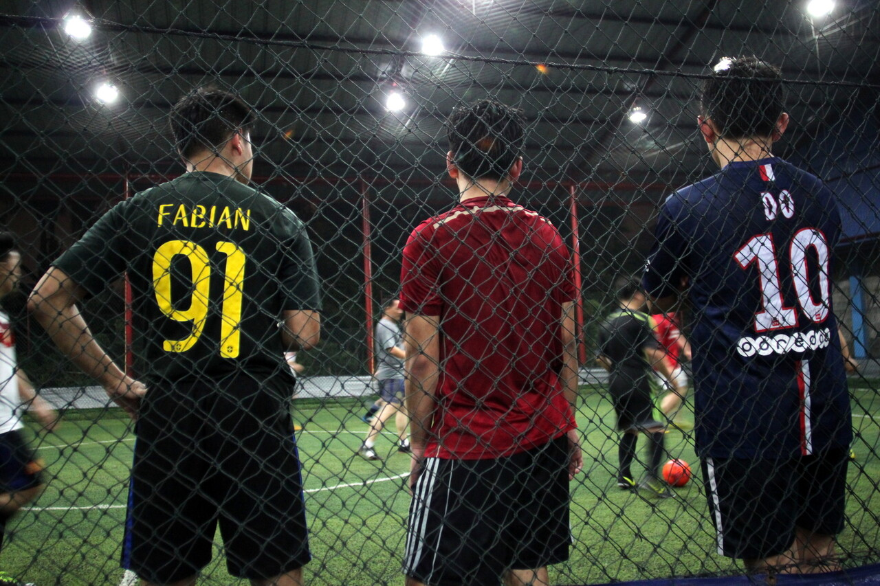 Break A Sweat At The Sparta Philippines Indoor Football