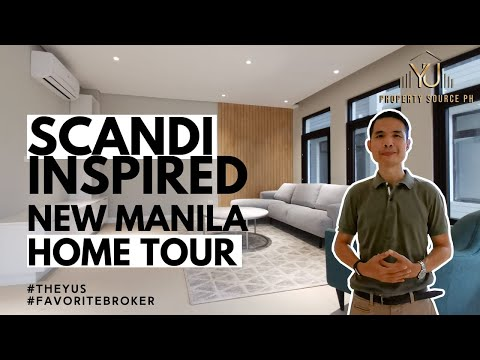 Scandi Inspired New Manila Townhouse 4 Bedroom with Elevator #favoritebroker | Property Source PH