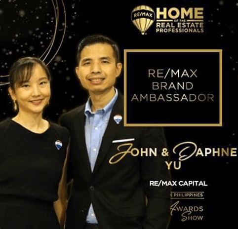 2020 REMAX Brand Ambassador John Daphne Yu Property Source PH